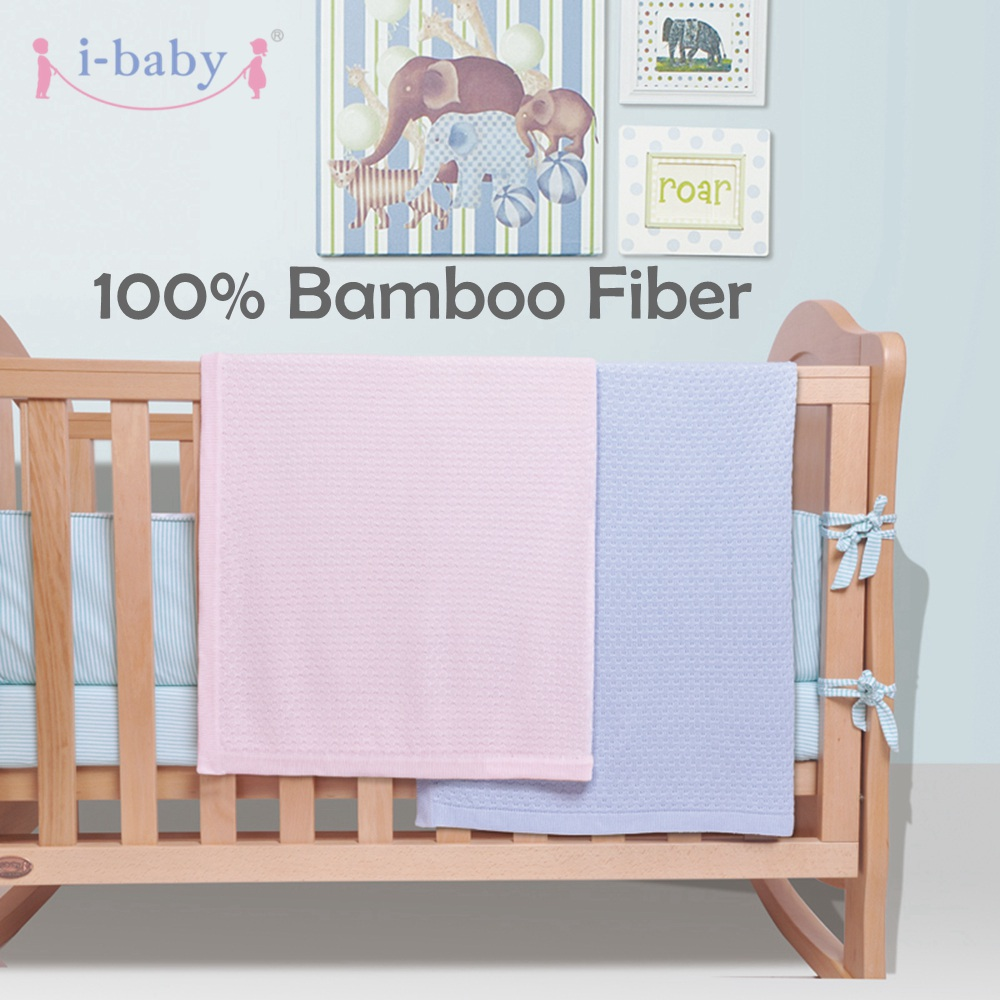 i-baby Baby Wrap Swaddle Blanket Newborn Bedding 100% Bamboo Fiber Swaddling Solid Blanket Children