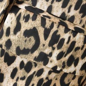 Image 5 - Vadim נשים בציר נמר בלייזר כיסי מחורצים צווארון ארוך שרוול מעיל נשי הלבשה עליונה אופנה casaco נשי חולצות CA076