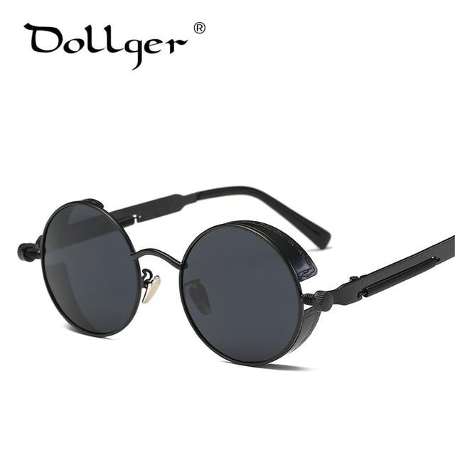 549b0df4582 Dollger vintage KASUBI steampunk mirror sunglasses women MEN oculos de sol  feminino STEAM PUNK coating Glasses eyeglass S0563