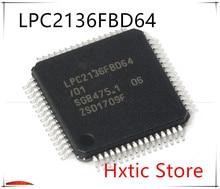 10PCS LPC2136FBD64/01 LPC2136FBD64 LPC2136 LQFP-64
