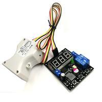 초음파 측정 거리 릴레이 출력 스크린 거리 조정 가능한 릴레이 출력 alam 0-800 cm