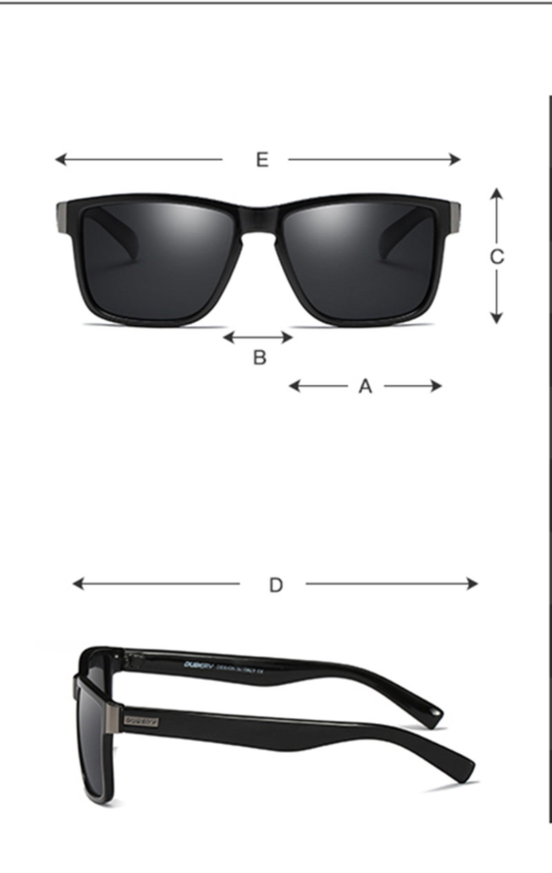 67a35a6616 DUBERY marca de diseño polarizado gafas de sol hombres conductor ...