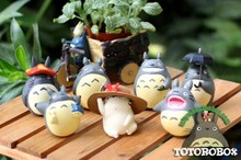 6pcs/set PVC japanese anime figures Movie My Neighbor TOTORO toy action Figures for totoro fans collect toys christmas gift