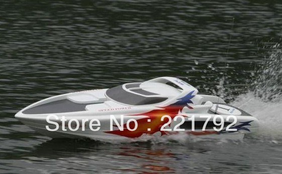 33CC Great White Shark Gas large scale rc boats / remote