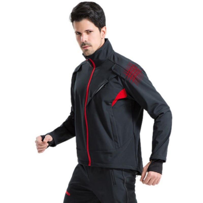Autumn Winter Jersey Suit Fleece Warm Long-sleeved Pants Outdoor Cycling Sportswear Men Women Cycling Clothing Sports Suit Hy