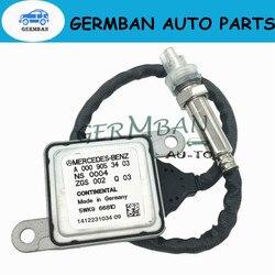 Азота Nox Сенсор для Mercedes Benz W166 W172 W205 W221 W251 W212 W222 W207 W906 ML250 GL350 5WK96681C A0009053403 A0009056104
