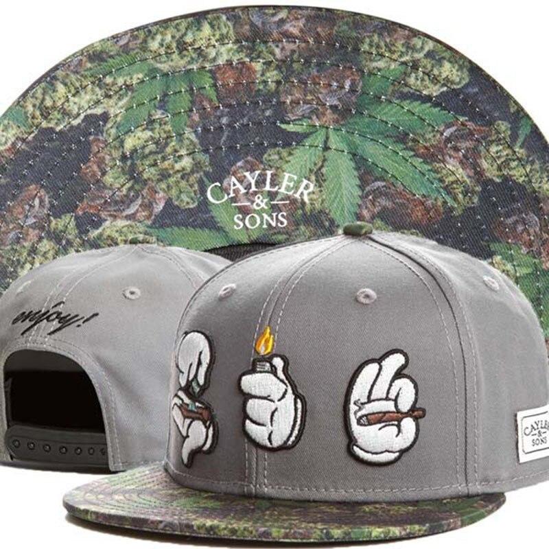 2015 New Summer Style Cayler   Sons snapback hats for women men gorras  smoking hip hop cap cotton snap back baseball caps bones 887100880929