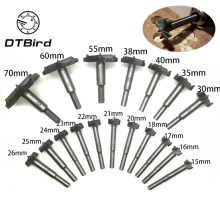 Forstner Wood Drill Bit Self Centering Hole Saw Cutter Woodworking Tools Set 15mm,20mm,25mm,30mm,35mm Hinge Forstner Bits DT2(China)