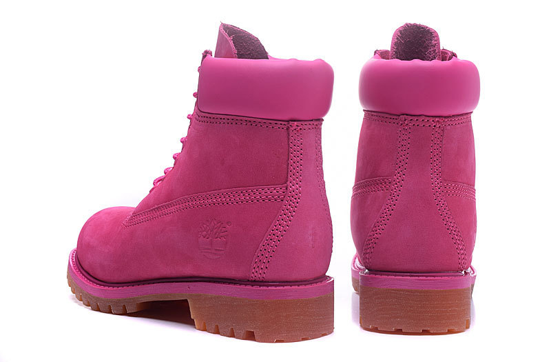 Original TIMBERLAND Women 10061 Pink Winter Boots,Woman Female Lovely Genuine Leather Ankle Anti-Slip Outdoor Warm Shoes 36-39.5 5
