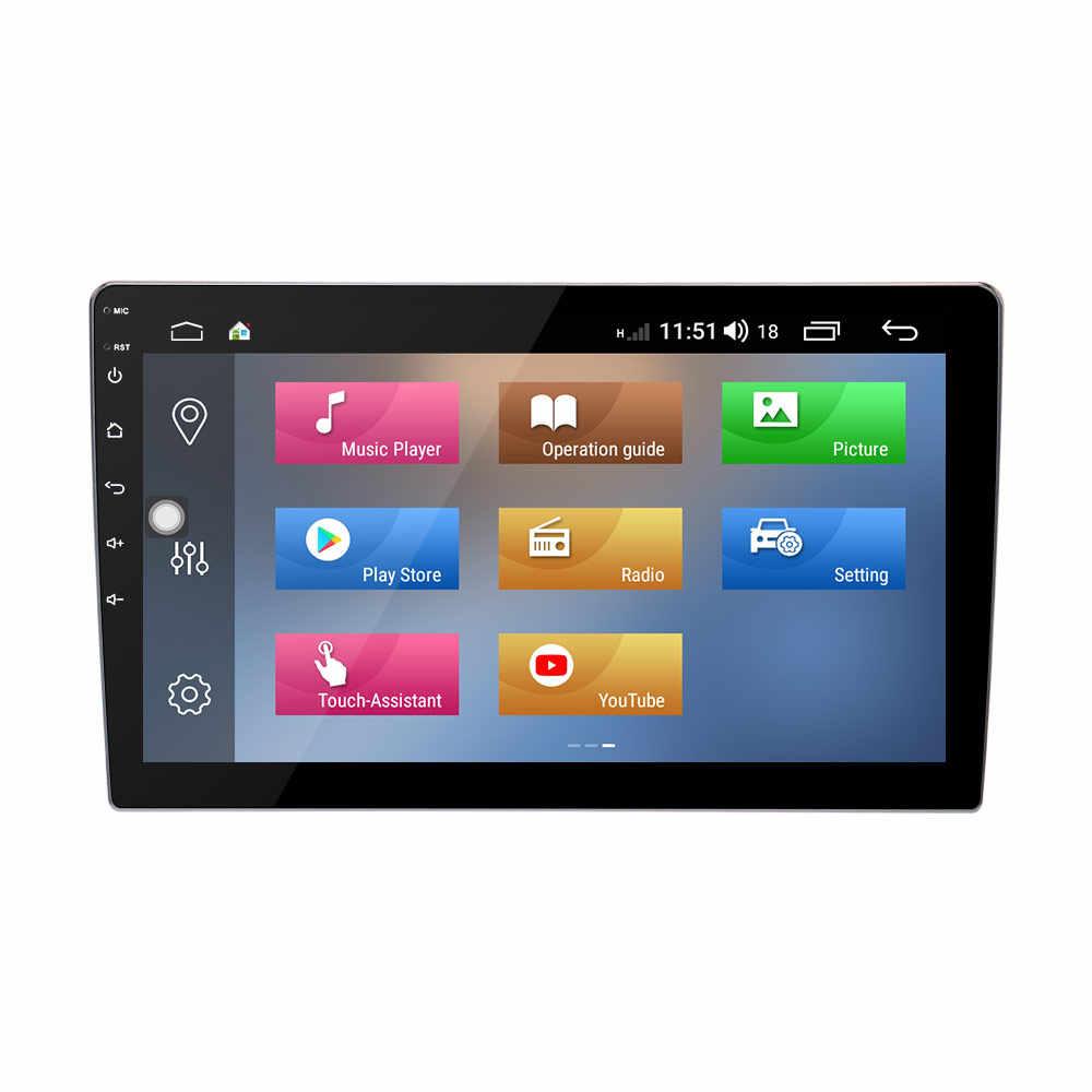 """10.1 """"Android 8.1 Octa Core Universale Doppio 2 Din car Radio Stereo GPS Headunit Audio costruire-in DSP per Volkswagen Passat Touran"""