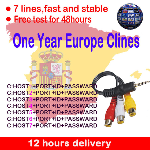 Most stable HD cccam Cline for 1 year Europe Free Satellite cccam Account Share Sever Italy Spain Germany IKS 1 year TV receiver