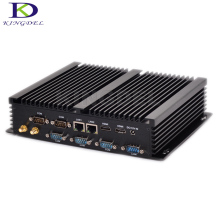 Big promotion Fanless Mini PC Industrial PC Core i7 5550U 4500U i5 4200U i3 4010U Rugged PC Mini Computador 4K HTPC Windows10 Pr