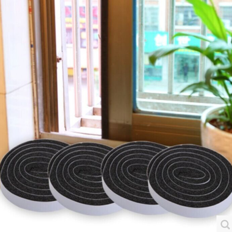 4 Roll Self Adhesive Seal Strip Door Window Sealing Strips Noise Insulation Dust Sealing Tape Wind Dust Blocker Sealer Stopper4 Roll Self Adhesive Seal Strip Door Window Sealing Strips Noise Insulation Dust Sealing Tape Wind Dust Blocker Sealer Stopper