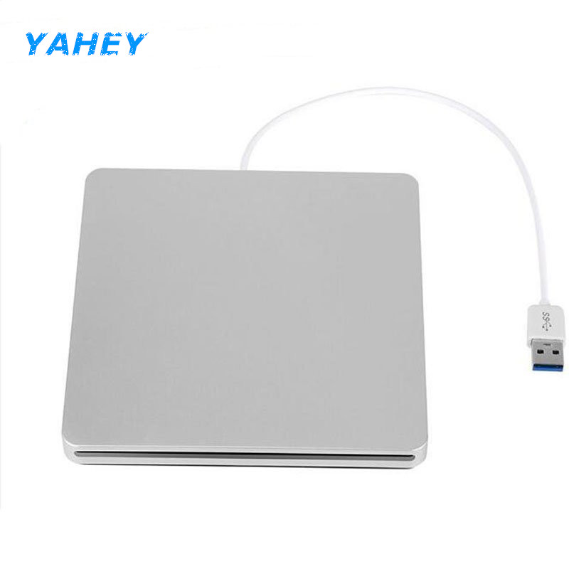 USB 3.0 Slot Load External Bluray Drive DVD RW Burner Writer 3D Blue-ray Combo BD-ROM Player for Apple Macbook Pro iMac Laptop bluray usb 3 0 external dvd drive blu ray combo bd rom 3d player dvd rw burner writer for laptop computer