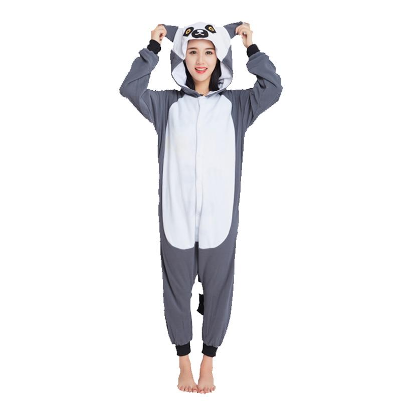 Ensnovo Polar Fleece Christmas Party Unisex Womens Onesie Pajamas Adult Kigurumi Homewear Costume Halloween Sleepwear
