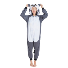 Ensnovo Polar Fleece Christmas Party Unisex Womens Onesie Pajamas Adult Kigurumi Homewear Costume Halloween Sleepwear