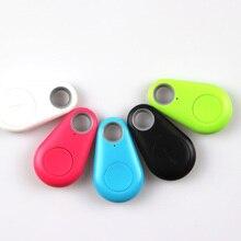5 pcs Mini Inteligente Bluetooth 4.0 Low Energy Criança Alarme Anti-Lost Sem Fio Do Obturador Remoto GPS Tracker Alarme Chaveiro para As Crianças Chaves