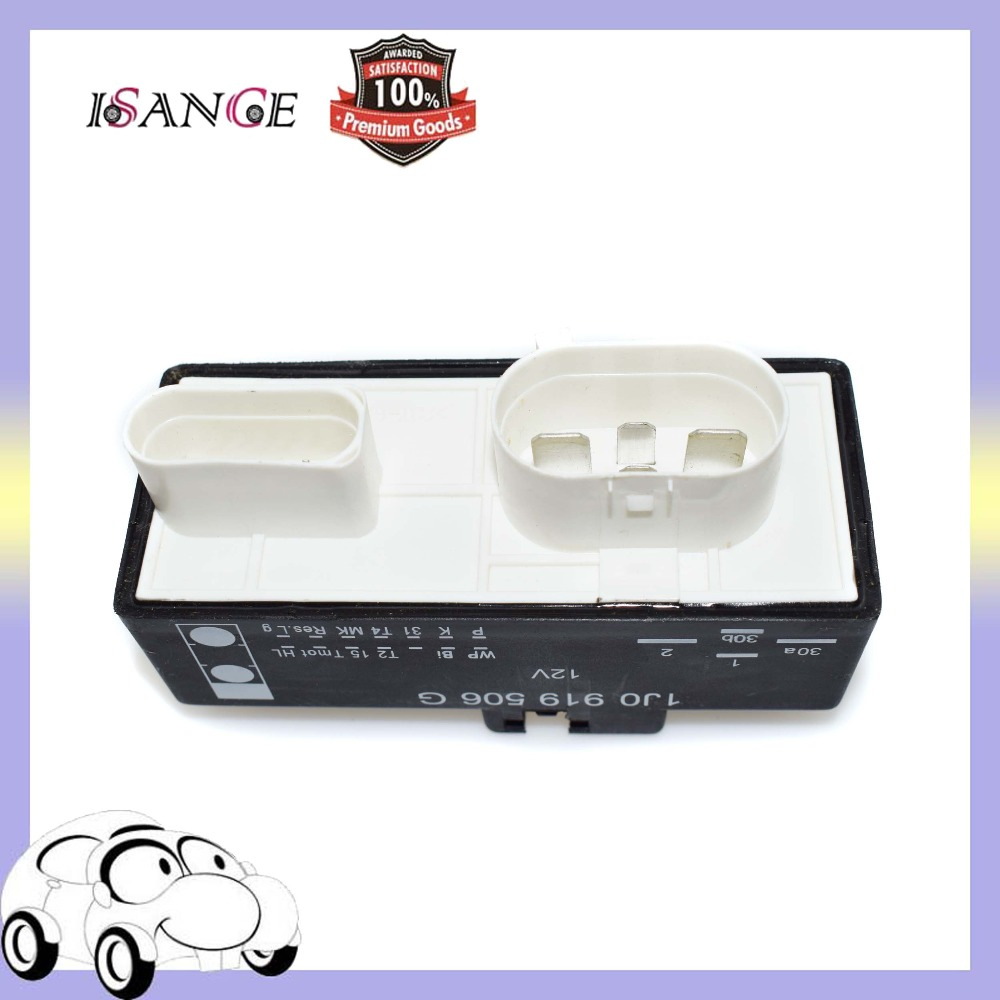 Isance Cooling Fan Relay Radiator Control Switch Module