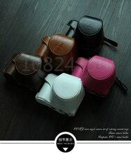 Высокое качество кожа Камера сумка для sony A5000 A5100 NEX 3N NEX-3N 16-50 мм объектив