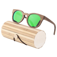Sk 1225 Sookie Comfortable Zebra Wood Frame Sunglasses Men Women Eyewear UV400 Protection Polarizing Fashion Sun