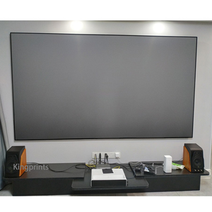 Image 5 - Ambient Light Rejecting ALR Thin Frame 84 92 100inch Projection Screen For WEMAX One Sony Ultra Short Throw UST Projectors