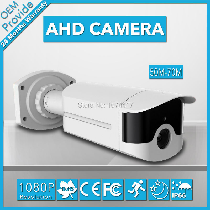 AHD4200LH-T privately-owned mold! 70M IR Distance CCTV AHD Camera 4 Big Led 1080P HD AHD 2.0MP Waterproof Outdoor CCTV System