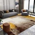 Американский абстрактный ковер  домашний ковер для гостиной  большой 300х400см диван  журнальный столик  напольный коврик  толстые полипропил...