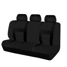 Чехол для автомобильного сиденья, моющийся, автомобильные аксессуары, универсальный, черный, серый, сетчатый материал, чехлы для заднего сиденья автомобиля для nissan lada ford bmw