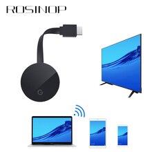 Rosinop 1080P HDMI Беспроводной адаптер Bluetooth приемник аудио Miracast USB Bluetooth передатчик для 4K ТВ наушники проектор
