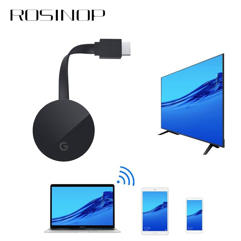 Rosinop 1080P HDMI Wireless adaptador Bluetooth Empfänger Audio Miracast USB Bluetooth Transmitter Für 4K TV Kopfhörer Projektor