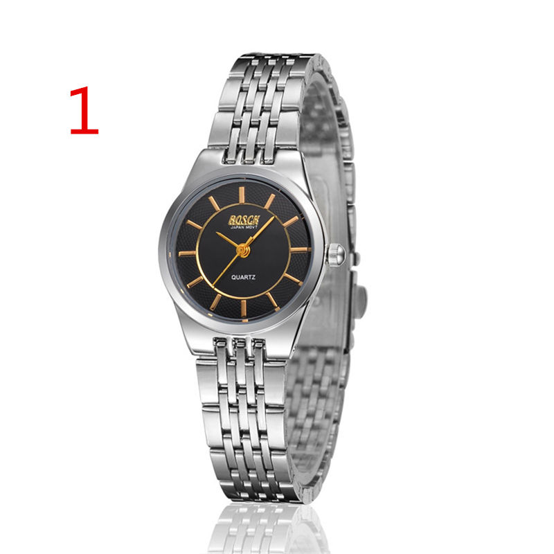Mens watch mens watch black surface steel belt waterproof female watch student Han mechanical watchMens watch mens watch black surface steel belt waterproof female watch student Han mechanical watch