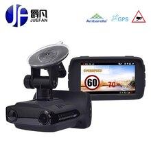 Juefan G3 Автомобильный видеорегистратор Камера Антирадары тире Камера видео Регистраторы HD 1296 P Антирадары сигнализации транспортного средства Скорость Управление GPS