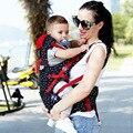 Luxuoso Do Bebê Hipseat Estilingue Portador de Bebê Mochila Transportadora Assento Hip Com Cinto Ergonômico Portador de Bebê de Algodão 360 Outerwear