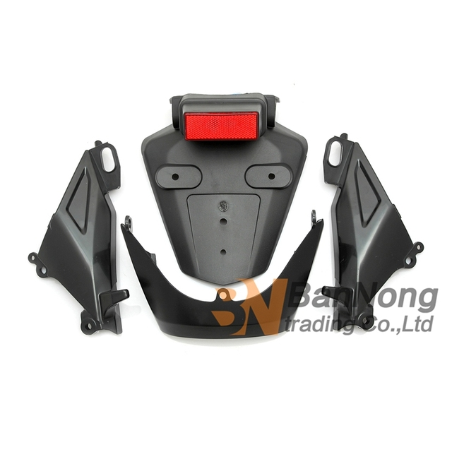 Free Shipping Motorcycle Rear Fender Splash Guard License Plate Holder For Honda Cbr600 Rr Cbr600rr F5 2005 2006 In Covers Ornamental Mouldings From