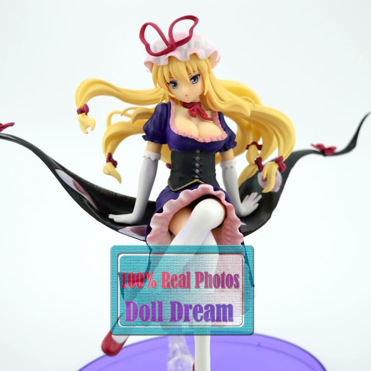22CM Japanese anime figure Touhou Project Yakumo Yukari Sexy PVC Action Figure Collectible Model Toy new hot 22cm touhou project yakumo yukari action figure toys collection christmas gift