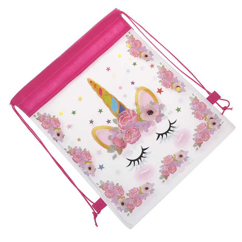 Unicorn borsa Morbida per le Ragazze Cornici e articoli da esposizione di Immagazzinaggio di Corsa Del Fumetto di Scuola Zaini Dei Bambini Di Compleanno Bomboniere e Ricordini