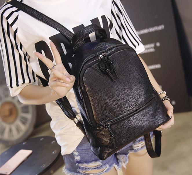 Fashion Women Backpack High Quality Youth PU Leather Backpacks for Teenage Girls Female School Shoulder Bag Bagpack galgalyi