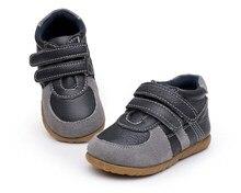 Bonne Qualité Bébé Sneakers Premiers Marcheurs Prewalkers Chaussures Antidérapant En Bas Âge Infantile Enfants Enfants Chaussures En Cuir Size19-25