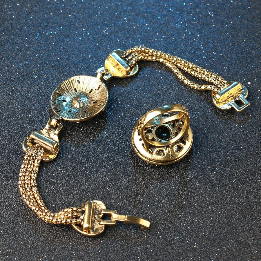 Vintage Look Indian Starfish Armbånd Ring For Kvinder Hvid Krystall - Mode smykker - Foto 6