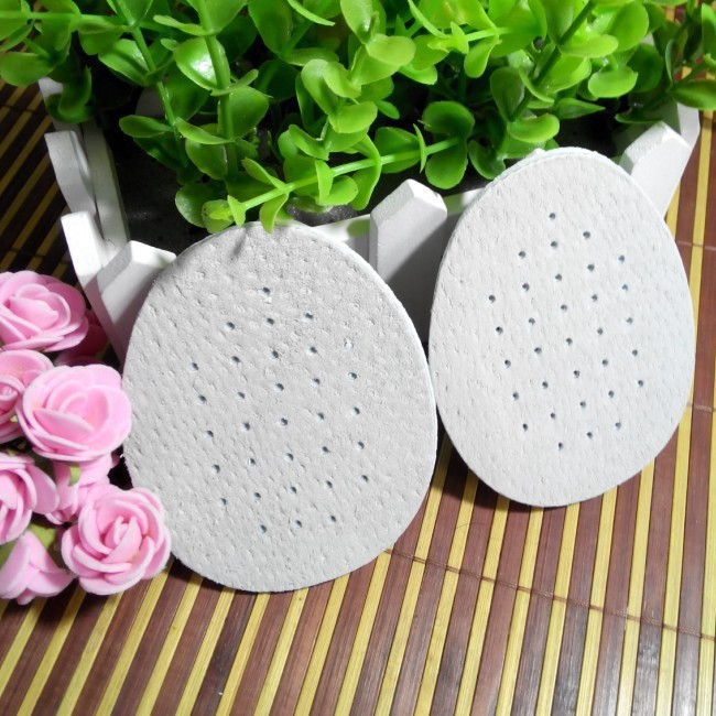 6 pairs Comfortable breathable forefoot pad leather half yard size shoe pads high-heeled shoes non-slip insole P54 high heeled shoes forefoot pad silica gel half yard pad transparent insole thickening slip resistant pad