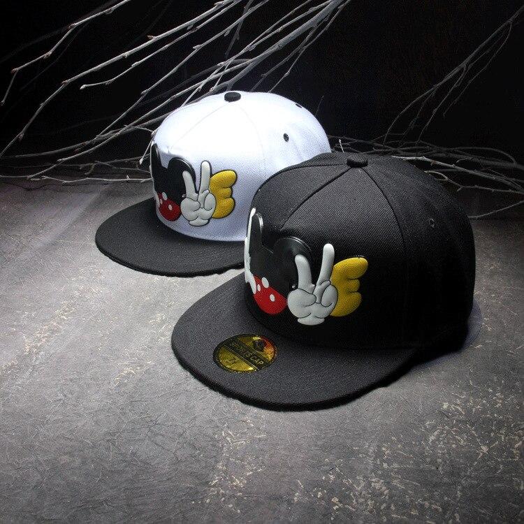 ESTILO DE VERANO 2016 casual goma ratón impreso snapbacks baile CAPS hip  hop gorras beisbol Gorras de béisbol cappelli casquette 58492b24815