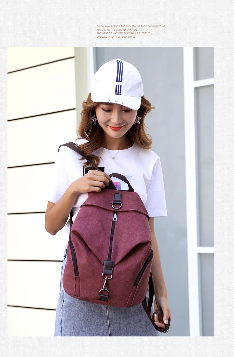 HTB1k792X0fvK1RjSspfq6zzXFXaf QINRANGUIO Women Backpack Fashion Canvas Backpack Large Capacity School Bags for Teenage Girls Backpack Female Backpack Women