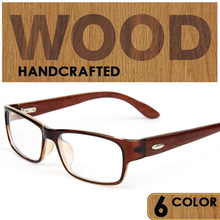 Мужская и женская деревянная оправа для очков для близорукости