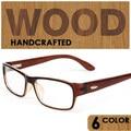 Hombres y Mujeres gafas marco Óptico De Madera Frame Gafas Miopía Gafas
