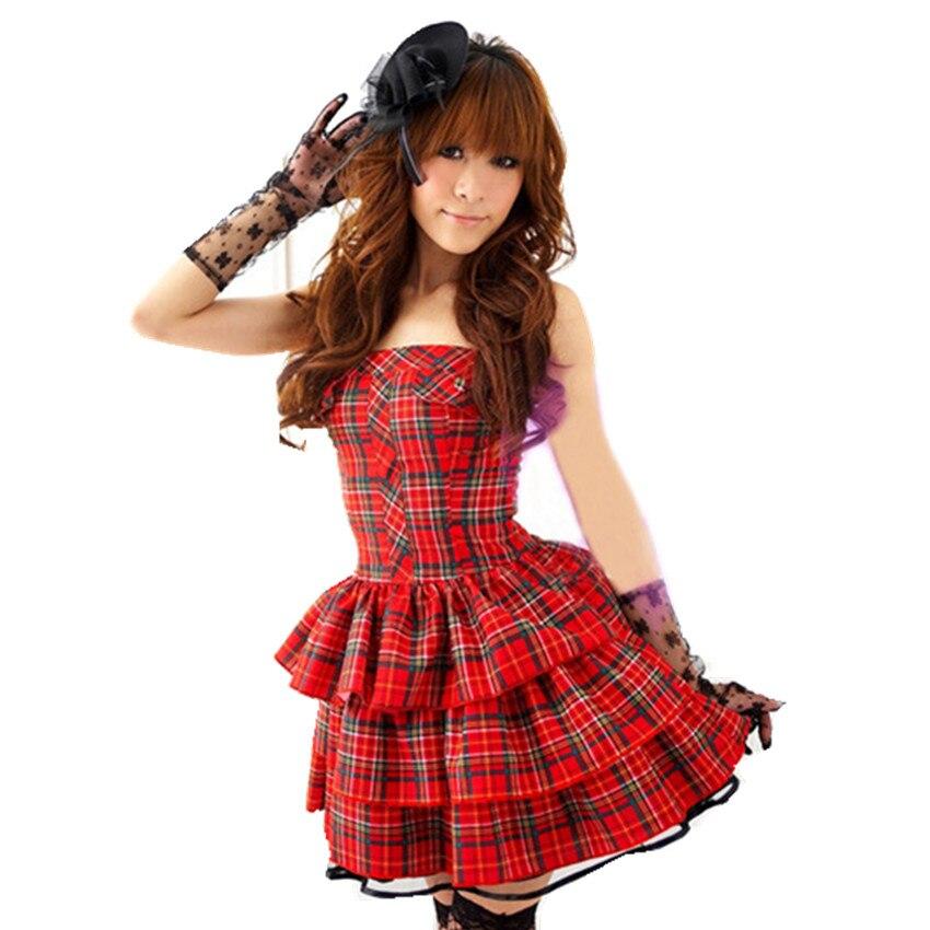 Оптовая продажа с фабрики платье принцессы сетки сексуальный костюм шоу на сцене DS игра равномерное Лолита Disfraces студент равномерное H159144