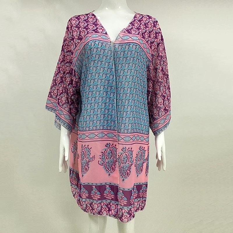 Bohoartist Women Scarves Multicolors Long Shawl Purple Chiffon ...