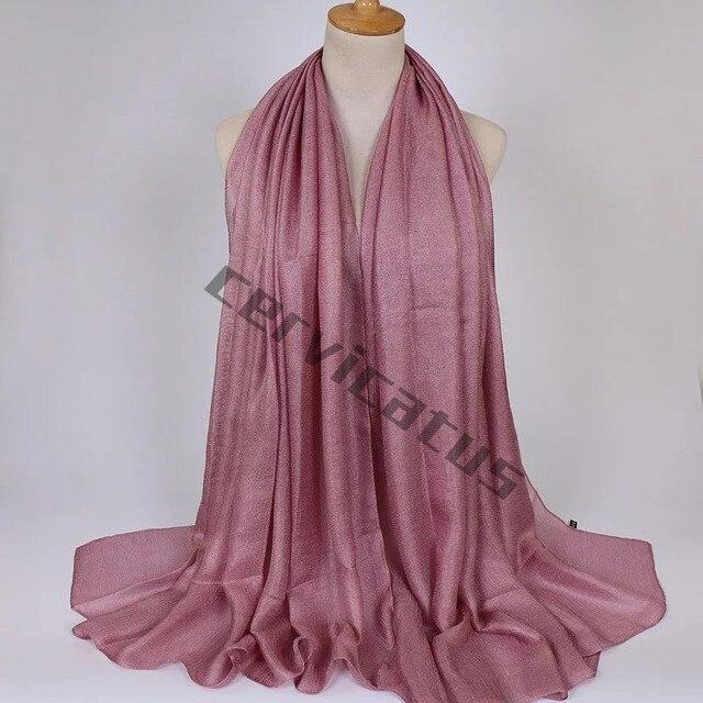 plain scarf - Pink & Purple Holland & Holland 4BZUT1F