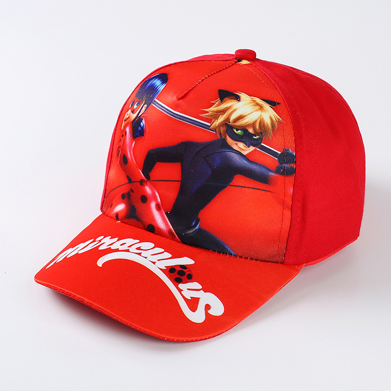 Cartoon Miraculous Ladybug Baby Hat Boys Girls Cute Coco Miguel Caps Kids  Cool Moana Baseball Caps Casual Fashion Baby Cap DS29-in Hats   Caps from  Mother ... b24097a34108
