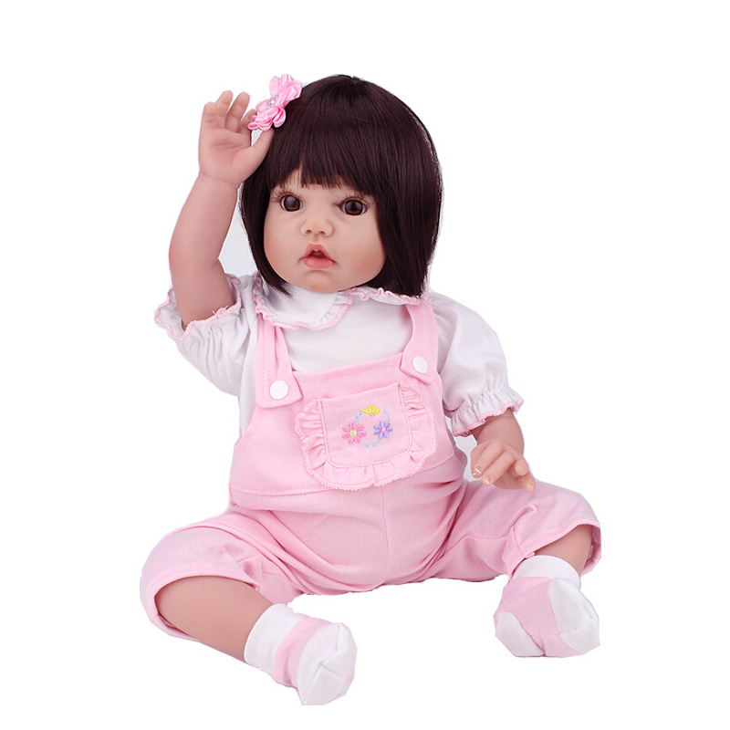 2015 New Arrival Best Toy Gift Baby Lifelike Doll Reborn Soft Silicone Vinyl 50CM