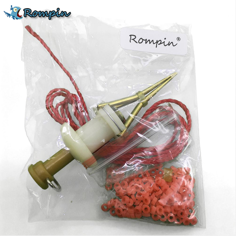 Rompin Earthworm Bloodworm Clip Bait Clip Earthworm Clip Fishing Tackle Fishing Tools Fishing Baits
